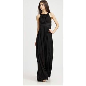 THEORY Wrenyn Backless Criss Cross Maxi Dress
